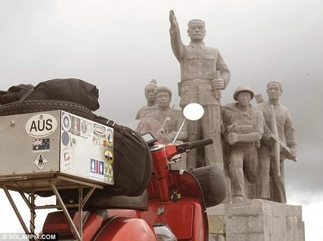 Around the world on a Vespa: from Adelaide to London | Vespa Stories | Scoop.it