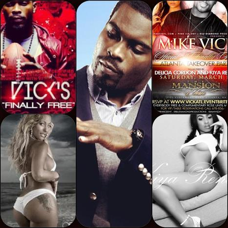 Micheal Vick @The Mansion tonight.... | GetAtMe | Scoop.it
