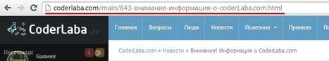 Русские символы в ЧПУ [DLE 9.6 - 10.x] » CoderLaba.com - Нубам хода нет! | Coderlaba | Scoop.it