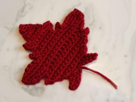 Etsy: Maple Leaf Crochet Pattern   scarecrows   Scoop.it