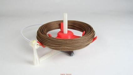 Ingenious Filament Spool Holder Keeps Your 3D Printer Printing   Robotics and Electronics   Scoop.it