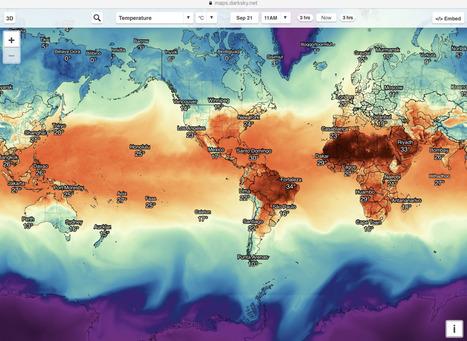 Dark Sky, la excelente app meteorológica, llega por fin a la Web | CTMA | Scoop.it