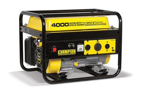 Review Champion Generator Power Equipment Model 46596 Watt (Gas)   The Arts Of Healthy Care   Scoop.it
