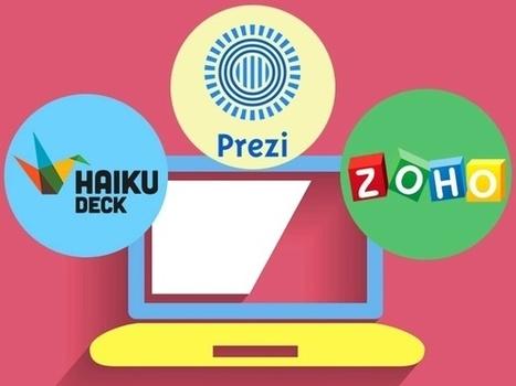 PowerPoint et les AUTRES : le Top 10 des outils de présentation | Technologies numériques & Education | Scoop.it