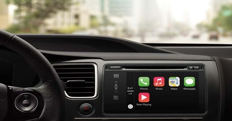 Apple's CarPlay: What You Need to Know | 4D Pipeline - trends & breaking news in Visualization, Virtual Reality, Augmented Reality, 3D, Mobile, and CAD. | Scoop.it