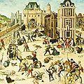 Un voyage dans le temps pour revivre la première nuit du massacre de la saint Barthélémy. - Lutetia : une aventurière à Paris | Paris Secret et Insolite | Scoop.it
