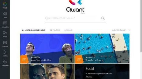 Avec Qwant, la France a son Google! | SEO - référencement | Scoop.it