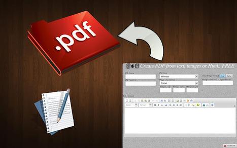 Top extensions chrome pour convertir et sauvegarder une page web en Pdf | Time to Learn | Scoop.it