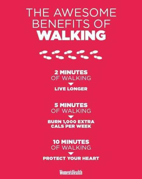 "3 Surprising Benefits Of Walking Just 10 Minutes A Day (""there is still hope for the lazy bugs"") 