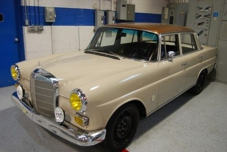 1967 Mercedes 230 Fintail Rally – REVISIT | German Cars For Sale Blog | Classic cars enthusiast | Scoop.it