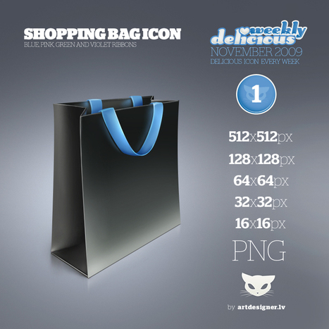 Shopping bag icon - WD1 by *LazyCrazy on deviantART | e-learning y moodle | Scoop.it