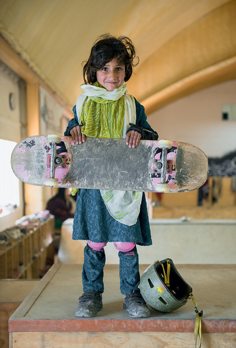 Photos Document the Empowerment of Afghan Girls Through Skateboarding | Photography Now | Scoop.it