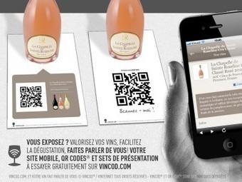 A l'occasion de Vinisud : 2 nouveaux Sets de Présentation Vincod QR Code | Tag 2D & Vins | Scoop.it