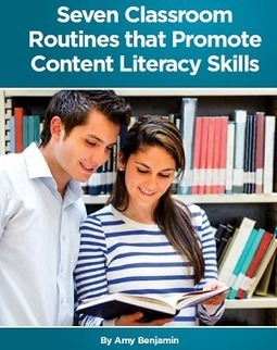 White Paper: 7 Classroom Routines that Promote Content Literacy Skills > Eye On Education | Writing Matters | Scoop.it