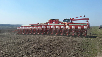 Photos: Ukraine farmers finish spring planting - FarmersWeekly | Precision Farming | Scoop.it