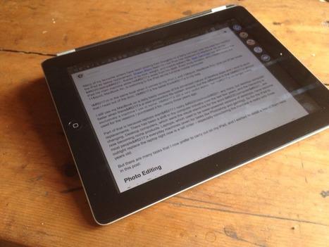 The iPad as Laptop - iSource | iOSteacher | Scoop.it