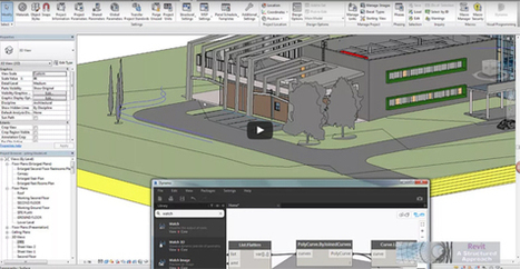 How construction professionals can build pile wall systems by integrating Revit 2017 and Dynamo extension for Revit | BIM Forum | Scoop.it