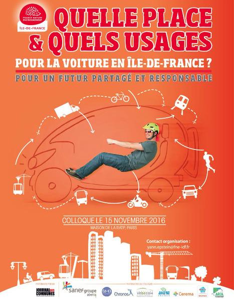 A noter sur vos agendas dès aujourd'hui ! #colterr #transports #mobilité@FneIDF #IledeFrance | Collectivités Infos | Scoop.it