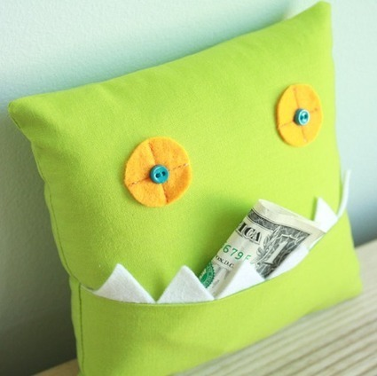 16 Easy Patterns to Sew for Beginners | Cushion | Scoop.it