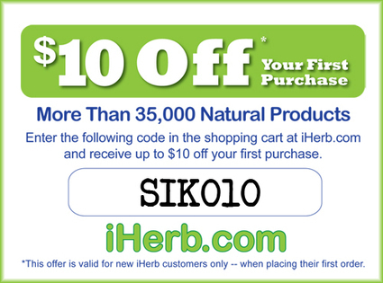 iHerb Coupon Code (SIK010) - Verified! - Health Advocate | DailyLinksFromWork | Scoop.it