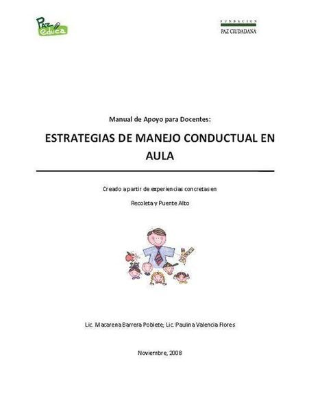 Estrategias de Manejo Conductual en el Aula | eBook | Educacion, ecologia y TIC | Scoop.it