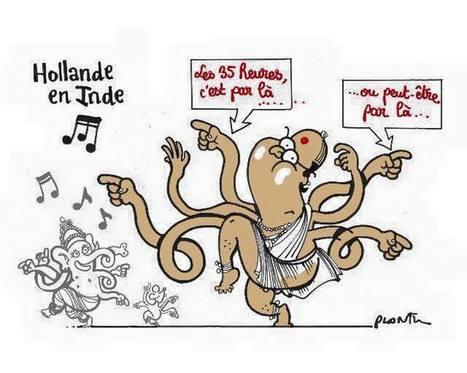 Hollande en Inde | Dessinateurs de presse | Scoop.it