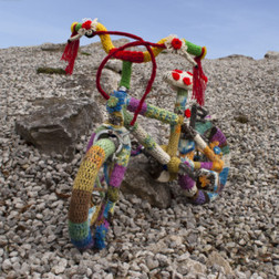 Woolly bike goes on tour of Peak National Park - Ashbourne News Telegraph | The Art of Crochet and Wool | Scoop.it