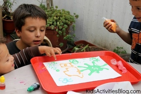 Creative Learning: Use Edible Ink | Learn through Play - pre-K | Scoop.it