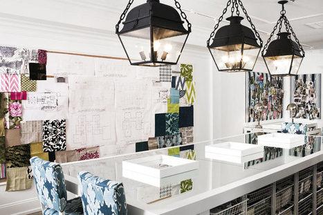 Idées déco : de grands mood boards pour favoriser sa créativité | DecoCrush blog déco, idées déco | décoration & déco | Scoop.it