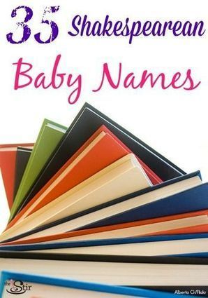35 Baby Names Inspired By Shakespeare | High School English | Scoop.it