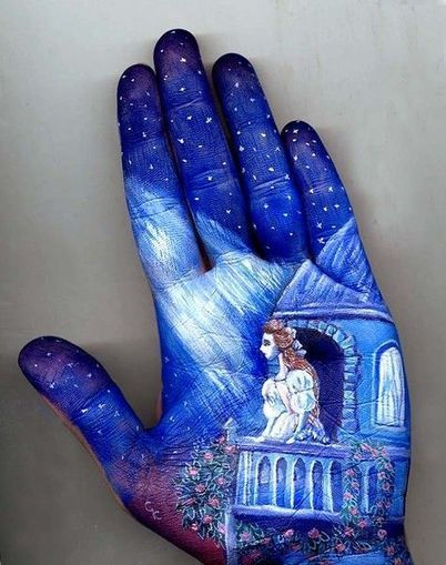 Artist Uses Own Hand as Canvas for Fairy Tale Illustrations - My Modern Metropolis | Le It e Amo ✪ | Scoop.it