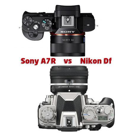 Nikon Df vs Sony A7R: which full-frame camera should you buy? | Digital Camera World | Nikon DF | Scoop.it