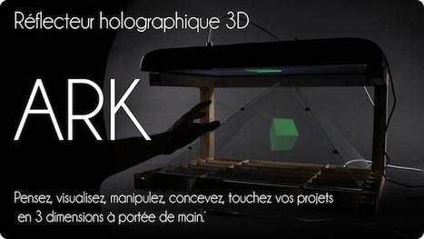 Réflecteur holographique 3D ARK   Les innovations qui changent la vie   Scoop.it