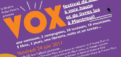 festival Vox ! | livres audio, lectures à voix haute ... | Scoop.it