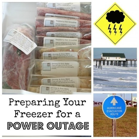 Preparing Your Freezer for Hurricane Sandy (or Any Power Outage) | OAMC from Once A Month Mom | Plan Your Plan | Scoop.it