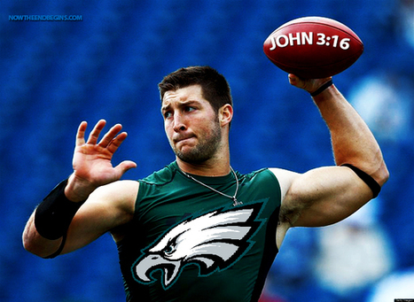 Comment on He's Back! Tim Tebow Signs One-Year NFL Contract With Philadelphia Eagles by Geri Ungurean | Restore America | Scoop.it