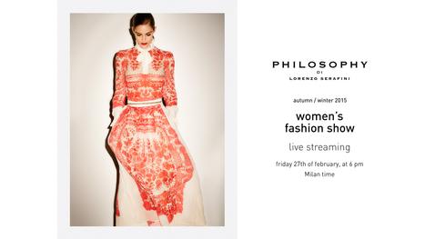 Philosophy by Lorenzo Serafini Fall/Winter 2015 Fashion Show | Best Fashion Week | Scoop.it