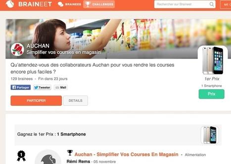 Braineet. Brainstorming et innovation entre consommateurs et marques - Les Outils Collaboratifs | Les outils du Web 2.0 | Scoop.it