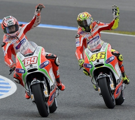 Nicky showed the GP12's potential | Ducati news | Scoop.it