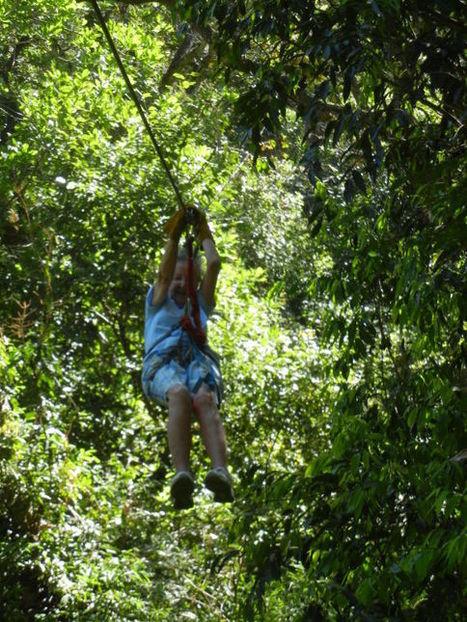 Woman celebrates 90th birthday amid treetops   Zip Lines   Scoop.it