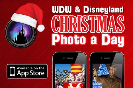 Announcing our Disney Christmas Photo a Day Apps - Disney ... | A little bit Disney | Scoop.it