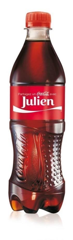 Coca-Cola fera porter des prénoms à ses bouteilles - La Tribune.fr   Communication Romande   Scoop.it