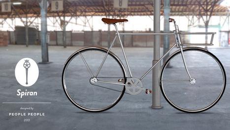 Ultraminimal 'Spiran' City Bike | Architecture and stage design | Scoop.it