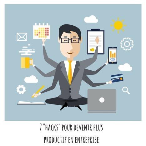 Etre plus productif en entreprise : 7 méthodes efficaces | Ressources Humaines | Scoop.it