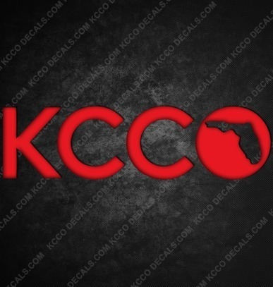 #Florida #KCCO Sticker - KCCOdecals.com | KCCO | Scoop.it