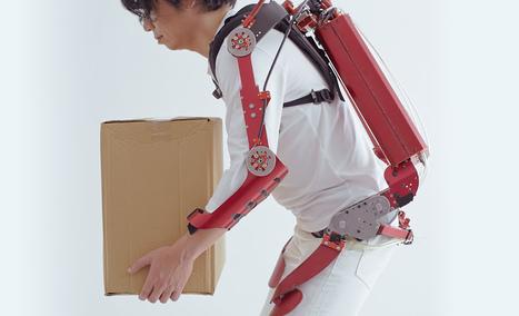 Un exo-squelette japonais capable de soulever 30 Kg | News from the web | Scoop.it