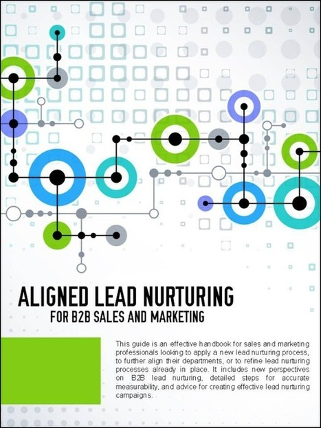 10 Aligned Lead Nurturing Statistics for B2B Sales and Marketing   Lead-to-Revenue Technology   Scoop.it