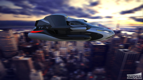 Flying Car of Tomorrow  | Ideas, Innovation & Start-ups | Scoop.it