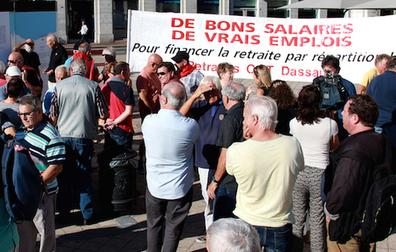 Les retraités essaient de se faire entendre | BABinfo Pays Basque | Scoop.it