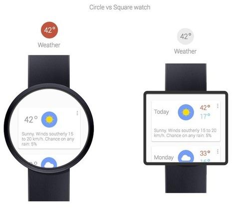 Google pourrait bientôt dévoiler une montre connectée - Clubic | Stratégies digitales | Scoop.it